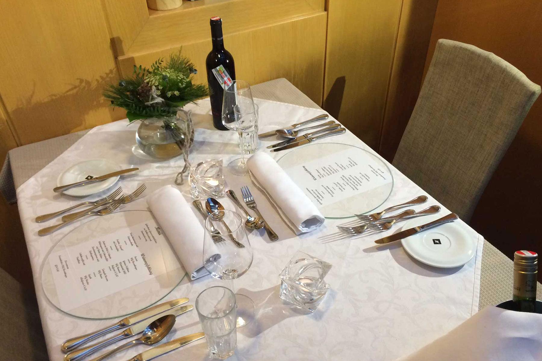 Gasthaus Vis A Vis - Romantikdinner